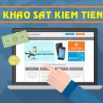 Các trang khảo sát kiếm tiền tại Việt Nam tốt nhất 2018